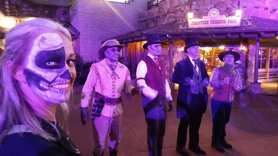 Cadaver Dans during Mickey's Not So Scary Halloween Party