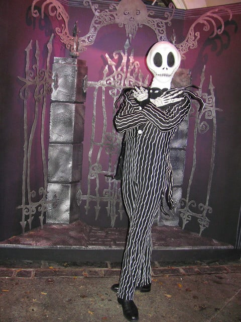 Jack Skellington at Mickey's Not So Scary Halloween Party