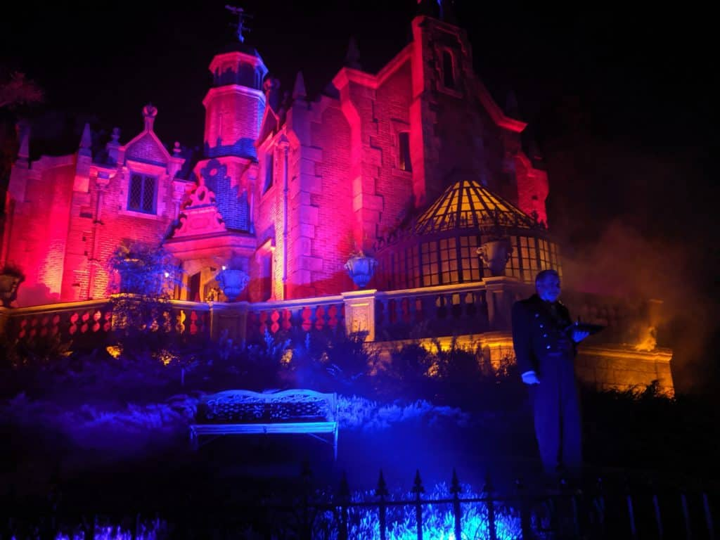 Haunted Mansion during MNSSHP