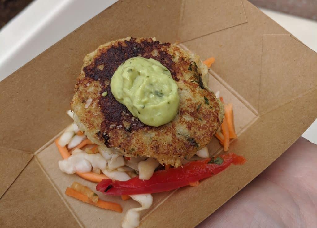 best of epcot food and wine crabcake